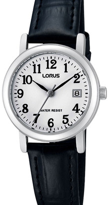 Lorus Rh765Ax-9 Full Figure Silver Dress Watch