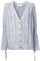 3.1 Phillip Lim pointelle cardigan - women - Polyamide/Viscose/Wool/Angora - S