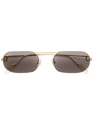 Cartier Square Tinted Sunglasses