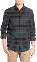 Ben Sherman Mod Fit Prince of Wales Plaid Flannel Shirt