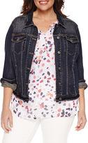 Liz Claiborne Denim Jacket-Plus