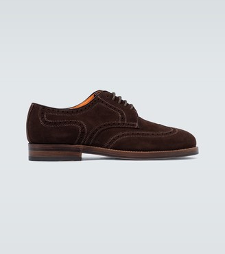 Junya Watanabe Suede lace-up brogues