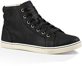 UGG Gradie Lace Up High Top Water Resistant Leather Sneakers