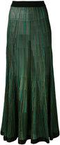 Sonia Rykiel long knitted skirt - women - Silk/Viscose - S