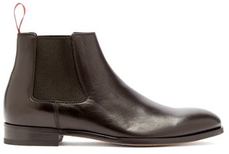 Paul Smith Crown Leather Chelsea Boots - Mens - Black