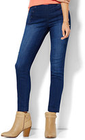 New York & Co. Soho Jeans - High-Waist Ankle SuperStretch Legging - Sailor