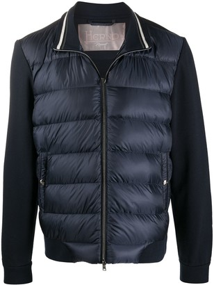Herno Padded Panel High Neck Jacket