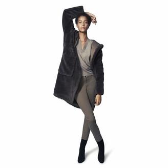 b new york Women's Vegan Faux Fur Coat