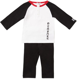 Givenchy Cotton Jersey T-shirt & Pants