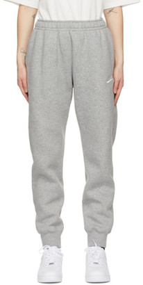 Nike Grey Sportswear Club Jogger Lounge Pants