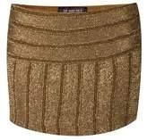 The Nude Face Jambezi Hand Beaded Mini Skirt.