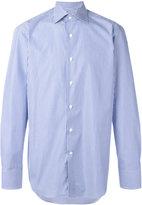 Canali striped shirt - men - Cotton - 40