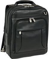 McKlein LINCOLN PARK LEATHER 15.6 THREE-WAY LAPTOP BACKPACK
