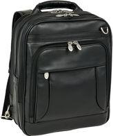 McKlein McKleinUSA Lincoln Park 15.6 Leather Three-Way Backpack Laptop Briefcase