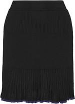 Rag & Bone Yasmine ribbed-knit mini skirt
