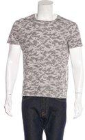AllSaints Camouflage Print T-Shirt