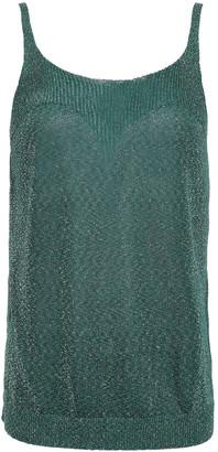 Missoni Metallic Stretch-knit Tank