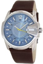 Diesel Not So Basic Blue Dial Brown Leather Men's Watch DZ1399