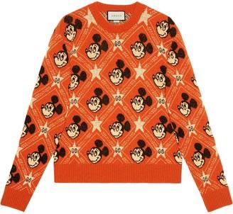 Gucci x Disney Mickey Mouse jacquard jumper