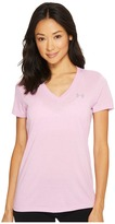 Under Armour Threadborne Train Short Sleeve V-Neck Twist Women's Clothing