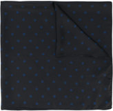 Saint Laurent dot print neck scarf