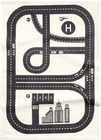 H&M Cotton Rug with Printed Motif