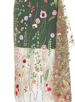 Marques Almeida Marques'Almeida Embroidered Tulle Layer Skirt