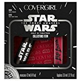 "Cover Girl Star Wars The Force Awakens Limited Edition Gift Set ~ Dark Apprentice Look ~ Mascara & Lip Gloss (10 ""Immune to the light"")"