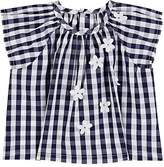 Il Gufo Infants' Cotton Gingham Blouse
