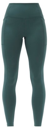 Girlfriend Collective High-rise Pocketed Leggings - Green