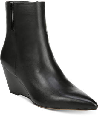Franco Sarto Athens Wedge Booties Women Shoes
