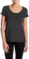 Joe Fresh Stripe Scoop Neck Tee