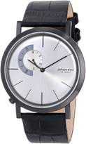 Johan Eric Men's JE1500-13-001 Randers Black Ion-Plated Coated Stainless Steel Sunray Dial Watch