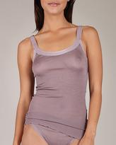 Dana Pisarra Parigi Ribbed Silk Camisole