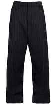 Golden Goose Deluxe Brand Berta pinstriped wide-leg trousers
