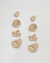 Monki Layered Ornate Earrings