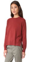 Vince Uneven Hem Cashmere Sweater