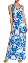 Tommy Bahama Fall Floral Plunge Back Dress