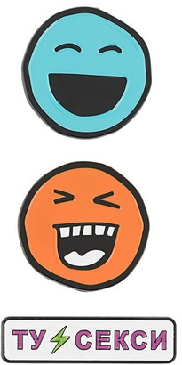 Natasha Zinko Smile Pin Set