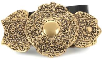 Saint Laurent Byzantine leather belt