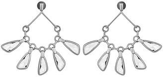 Swarovski Atelier By Paul Andrew Rhodium Plated Chandelier Earrings