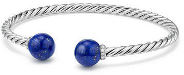 David Yurman Solari 9mm Silver Open Bead Bangle Bracelet
