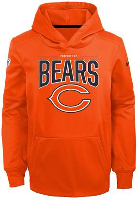 Nfl Boys 8-20 NFL Chicago Bears Therma Hoodie Pullover
