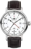 Zeppelin Watches Men's Quartz Watch 7546-1 7546-1 with Leather Strap