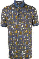 Dolce & Gabbana musical printed polo shirt - men - Cotton - 46