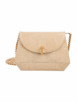 Paloma Picasso Karung Chain Evening Bag Gold