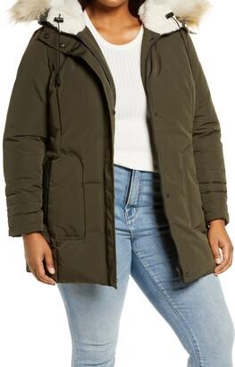 Sam Edelman Faux Fur Trim Jacket