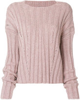 Dondup classic knitted top - women - Acrylic/Polyamide/Polyester/Mohair - XS