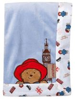 Trend Lab Paddington BearTM 30-Inch x 40-Inch Velour Receiving Blanket in Blue