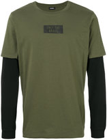 Diesel contrast sweatshirt - men - Cotton - S